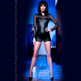MINI DRESS CR-4034 BLACK