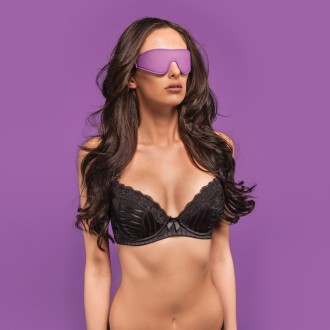 OUCH! REVERSIBLE EYE MASK PURPLE