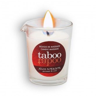 TABOO JEUX INTERDITS MASSAGE CANDLE FOR HIM 60GR