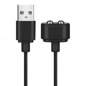 CARREGADOR USB MAGNÉTICO SATISFYER PRETO