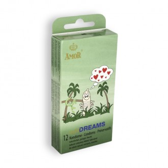 WILD DREAMS CONDOMS 12 UNITS
